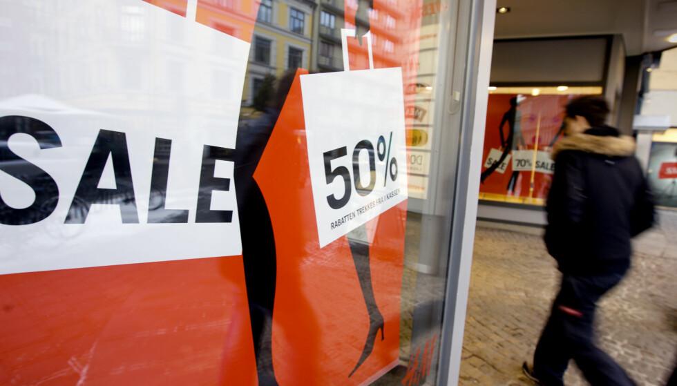 ROMJULSSALG: Denne uken kan du gjøre gode kupp i butikkene. Foto: Kyrre Lien/Scanpix