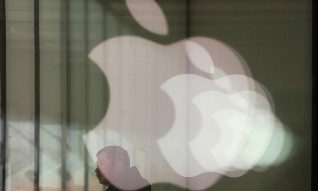 INNTEKTENE FALLER: Apple har på forhånd varslet at inntektene for siste kvartal er lavere enn forventet. Foto: Aly Song/Reuters/NTB Scanpix