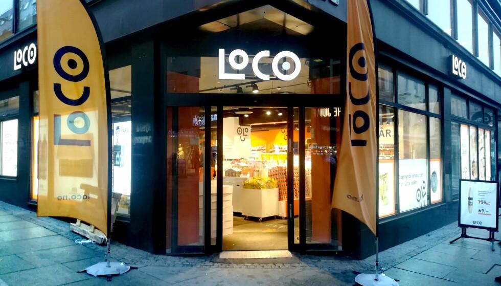BILLIGKJEDE: Med 22 butikker fordelt over landet, har den norske billigkjeden Loco vokst raskt siden starten i 2017. Foto: Camilla Øino