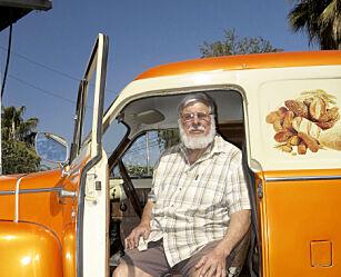 image: I Afrika møtte vi en mann med en helt spesiell Volvo-skatt