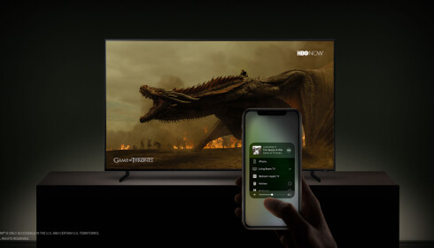 AirPlay 2 kommer også til Samsungs TV-er fra 2018 og 2019.