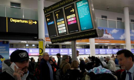 image: Dette er flyplassene med mest ventetid