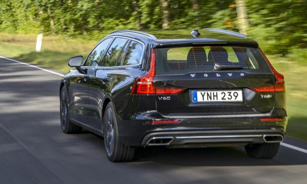DEN LEKRESTE?: Smaken er som baken og Nordmenn flest elsker SUV, men V60 er den mest vellykkede designmessig fra Volvo akkurat nå, mener vår redaksjon. Cross Countryutgaven er rett rundt hjørnet. Foto Jamieson Pothecary