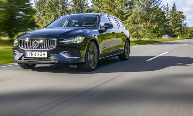 <strong>BEST:</strong> Vi hevder at V60 er Volvos mest komfortable bil for øyeblikket. Foto: Jamieson Pothecary