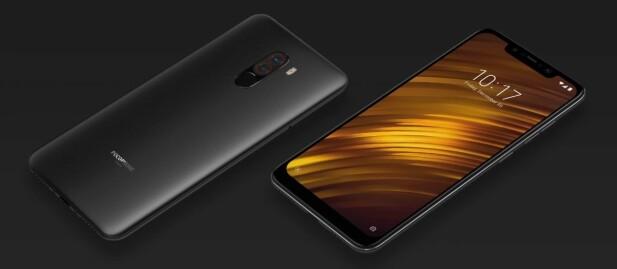 Pocophone F1 har mye til felles med de dyreste telefonene spesifikasjonsmessig. Foto: Xiaomi