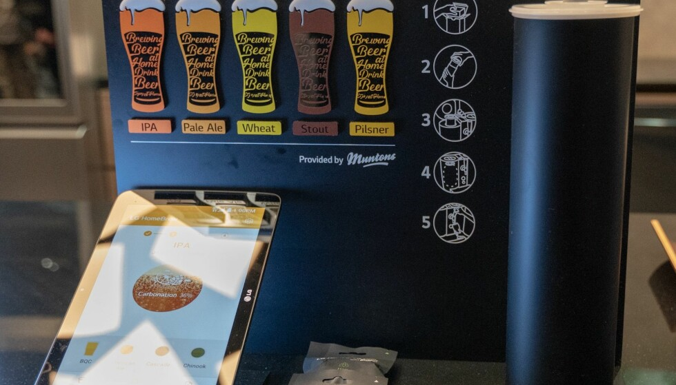Brygg kapseløl i fem ulike smaker. Foto: Martin Kynningsrud Størbu