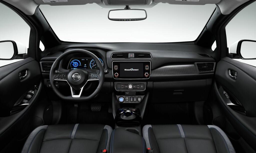 E-Pedal: Spesialmodellen er topp utstyrt og får blant annet e-pedal som standardutstyr. Foto: Nissan.