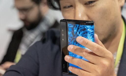 image: Her er verdens første brettbare smarttelefon!