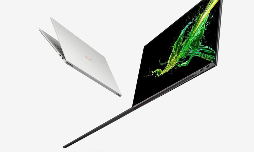 Acer Swift 7 er syltynn. Foto: Acer