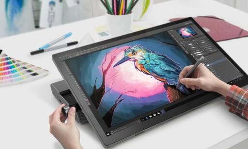 Skimter vi en liten Surface Studio-konkurrent fra Lenovo? Foto: Lenovo