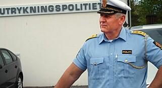 - VI HAR TRENTE ØYNE: UP-sjef Runar Karlsen forteller at politiet følger med på hvilke biler som har ulovlig last på taket.