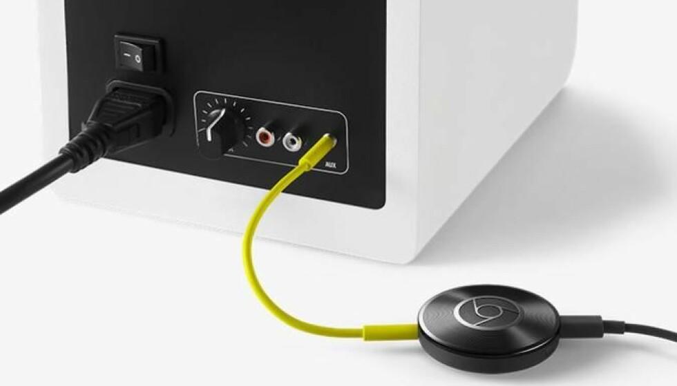 SKROTES: Google stanser produksjonen av Chromecast Audio. Foto: Google.
