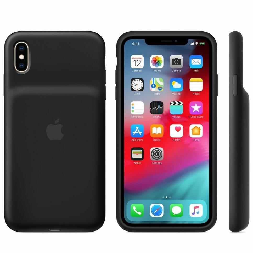 UTSTIKKENDE BATTERI: Apples nye batterideksel har ikke lenger den omdiskuterte humpen, men batteriet stikker fremdeles ut på baksiden. Foto: Apple