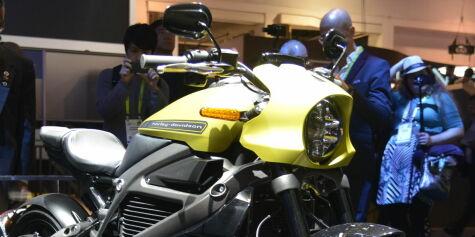 image: Legenden har gitt etter - Nå kommer Harley med el-motor