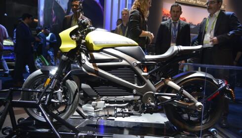 <strong>BARSK:</strong> Utseende er det ingenting å klage på. Det er motorlyden vi kommer til å savne. For LiveWire er elektrisk og meget stillegående. <br>Foto: Jamieson Pothecary