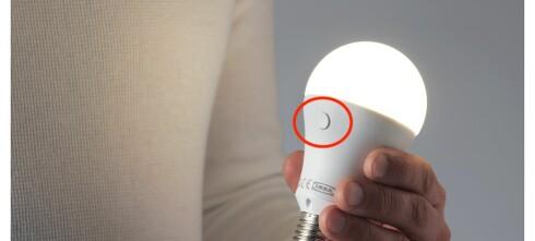 Denne LED-pæren kan du lade opp