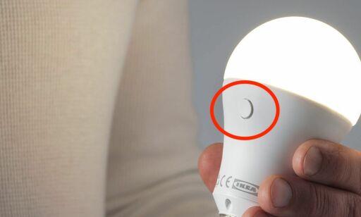 image: Denne LED-pæren kan du lade opp