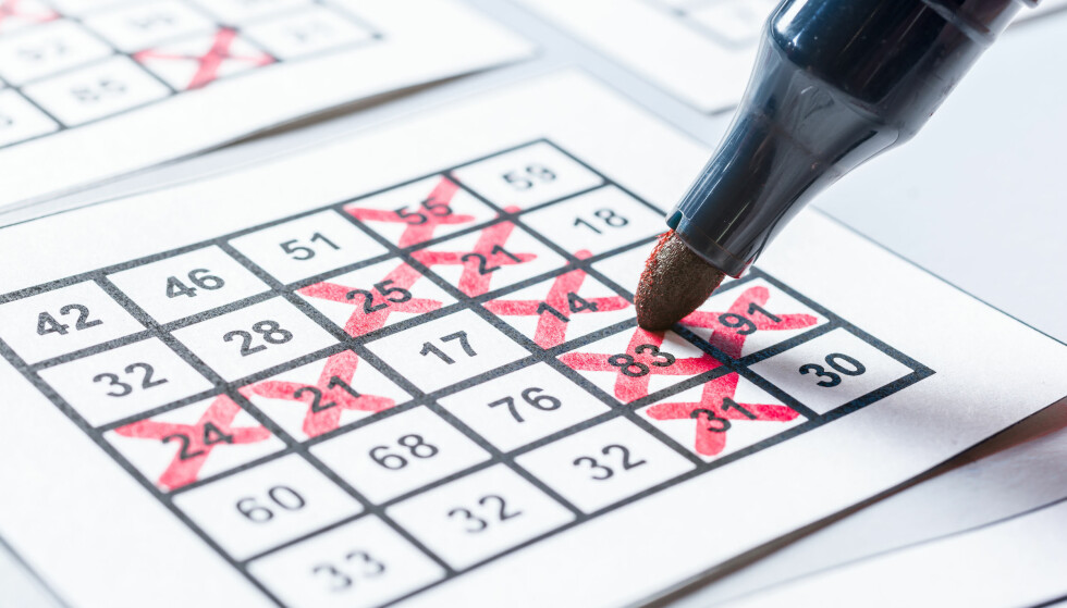 DOBLER TOPPGEVINSTEN: Nå økes grensen for hvor mye du kan få lov til å vinne på bingo. Den dobles fra 5.000 til 10.000 kroner. Foto: Shutterstock/NTB scanpix