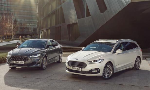 NÅ OGSÅ STASJONSVOGN: Mondeo som hybrid var hittil bare tilgjengelig som sedan og i Norge ble det bare solgt 84 slike i 2018. Foto: Ford