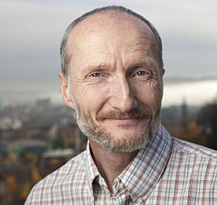 FORVENTER SPREDNING: Fagsjef Johan Mattsson i Mycoteam tror perlekreet kan bli enda vanskeligere å bli kvitt enn sølvkre og skjeggkre. Foto: Mycoteam