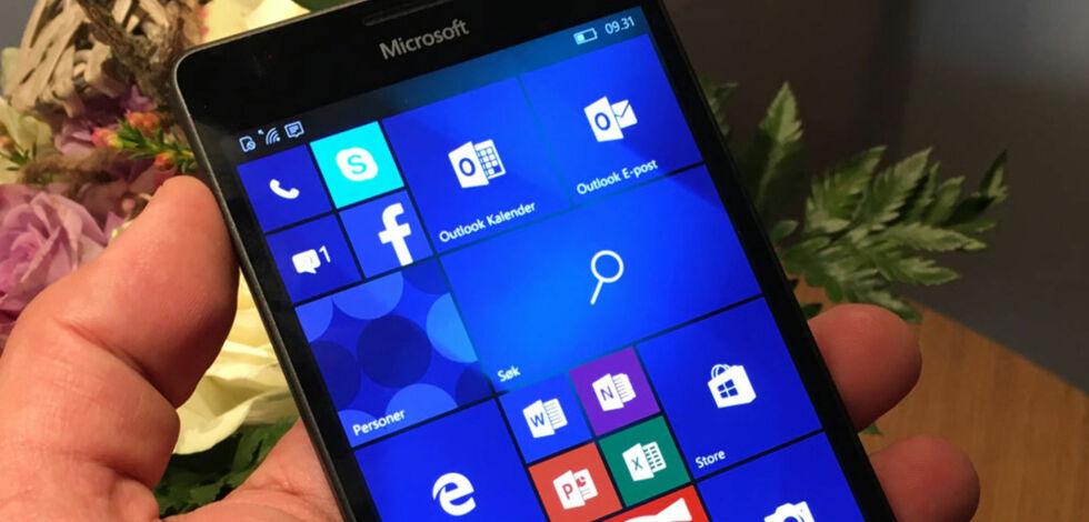 image: Datoen er satt: Microsoft avliver Windows på mobiler