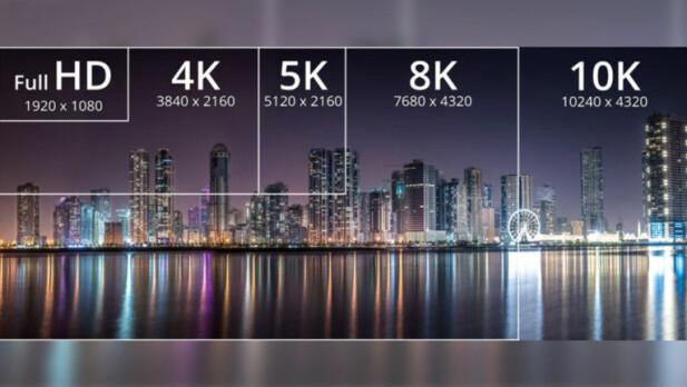 HDMI v2.1 støtter oppløsninger helt opp til 10K. Foto: HDMI Forum