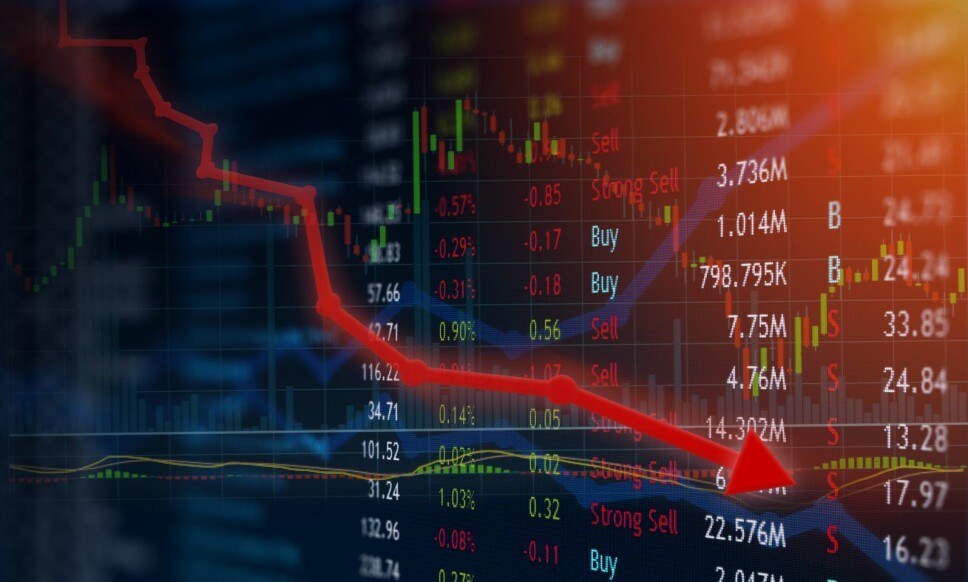 TAPTE PENGER: Nordiske aksjefond hadde negativ avkastning på 10,8 prosent i 2018. Foto: Shutterstock / NTB Scanpix