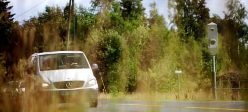 Regjeringen vil begrense antall strekningsmålinger på veiene