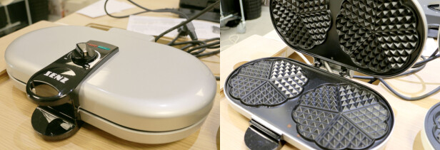Senz SE3380BGS Waffle maker
