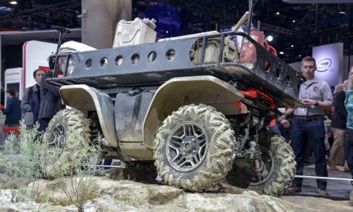 FLEKSIBEL RAMME: Utgangspunktet er likt på alle. Men ATV-en fra Honda kan tilpasses etter ethvert behov og bruksområdet. Foto: Jamieson Pothecary