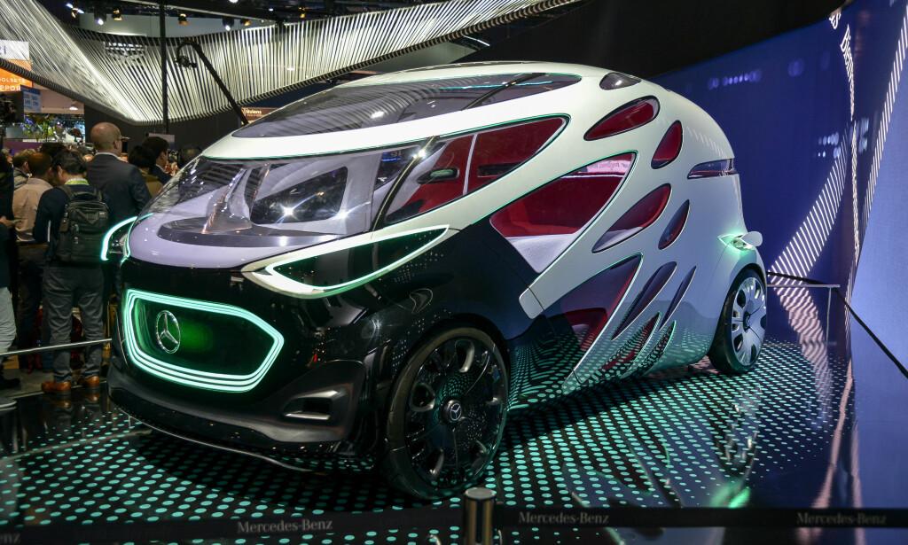 VAREBILKONSEPT: Mercedes-Benz Vans Vision Urbanetic. Foto: Jamieson Pothecary