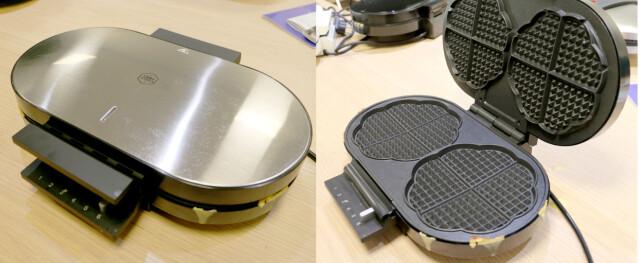 OBH Nordica double Waffle iron Elite (6955)