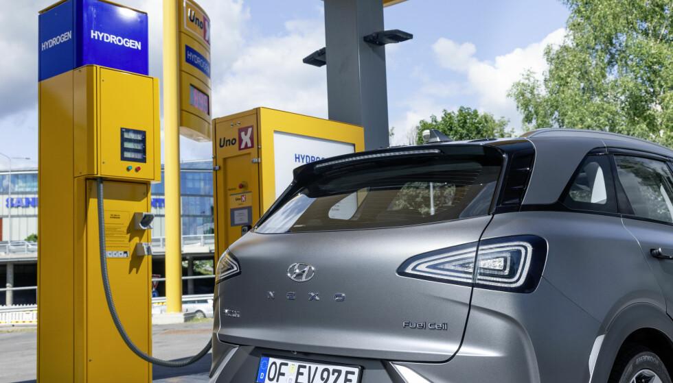 HELE LISTA: Hyundai Nexo er første hydrogenbil på Folksams «Bra valg»-liste. Her kan du se alle modell- og motoralternativer som kvalifiserer. Foto: Produsenten