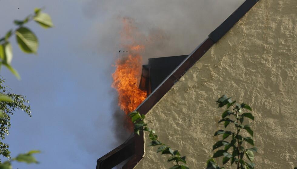 BRANNÅRSAKER: Det er tørrkok og -stek, samt feil på eller bruk av elektriske apparater som er de klassiske brannårsakene. Foto: Morten Holm/NTB Scanpix.