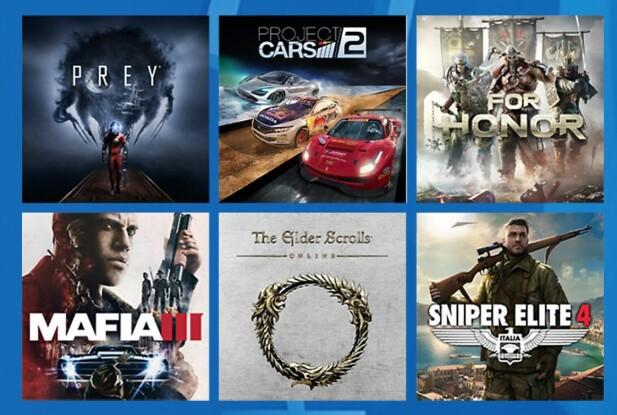 Her er noen av de siste spillene som har blitt lagt til i PlayStation Now-tjenesten.