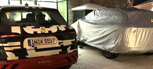 Her prøver Audi ut sin nye elbil i Norge