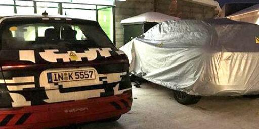 image: Her prøver Audi ut sin nye elbil i Norge