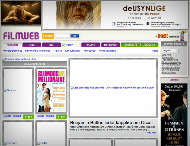 filmweb.no, 2009