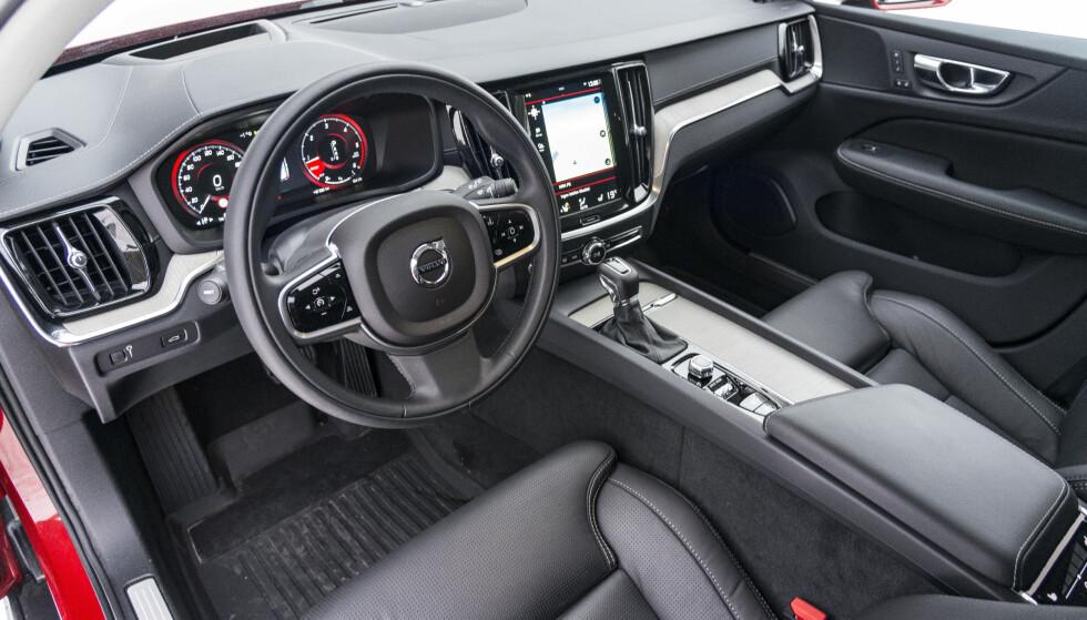LUKSUS: Digitale instrumenter er standard og funker bra, men vi ønsker oss en bedre kjørecomputer. Foto: Jamieson Pothecary