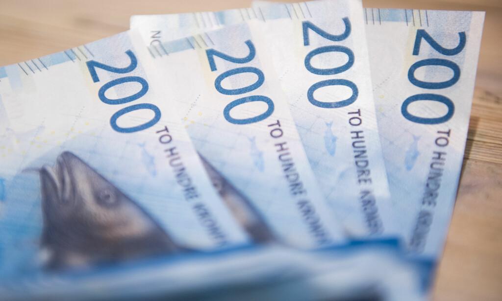 LØNN: I fjor endte lønnsveksten anslagsvis på rett under tre prosent, svakt over nivået i frontfagsoppgjøret. Nest år spår Nordea vekst over tre prosent. Foto: Jon Olav Nesvold/NTB Scanpix.
