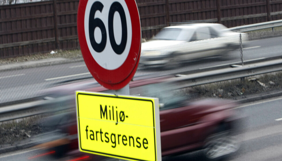 MILJØFART: Den midlertidig avvikling av miljøfartsgrense i Oslo trer i kraft fra mandag 28. januar. Foto: Morten Holm/NTB Scanpix.