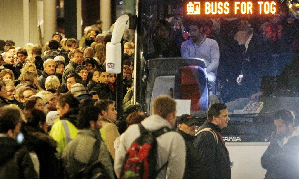 image: NSB øker prisene og varsler togstopp