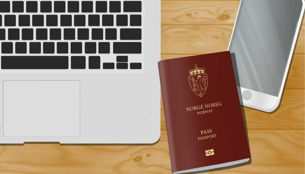 PASSKØ: Nå begynner det å haste hvis du trenger nytt pass før vinterferien. Foto: Shutterstock/NTB scanpix