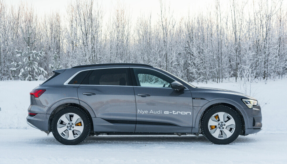 IMPONERENDE: Audi e-tron oser kvalitetsfølelse. Foto: Jamieson Pothecary