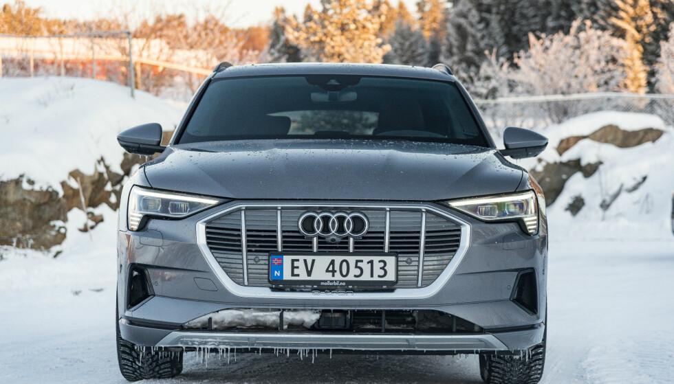 <strong>KOMFORT:</strong> Audi e-tron er stillere enn alt annet. Foto: Jamieson Pothecary