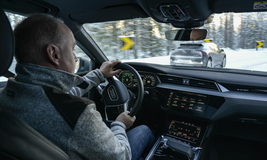 I TEST: Dinside/Elbil24 kjørte Audi e-tron over 2000 kilometer. Foto: Jamieson Pothecary