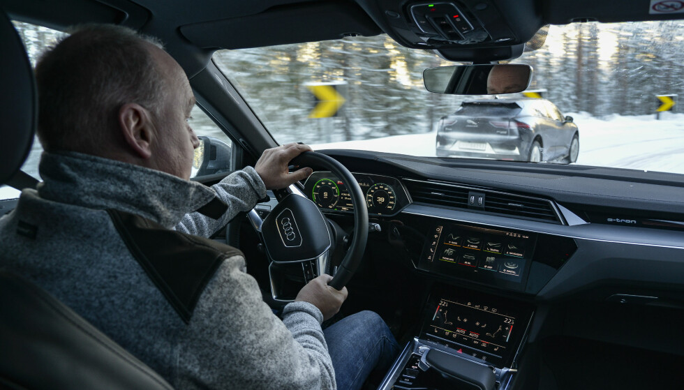 <strong>I TEST:</strong> Dinside/Elbil24 kjørte Audi e-tron over 2000 kilometer. Foto: Jamieson Pothecary