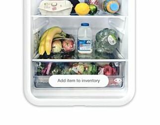 Smarter FridgeCam tar bilde av innsiden av kjøleskapet ditt. Foto: Smarter