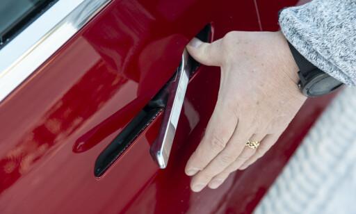 UVANT: Dørhåndtakene er noe vanskelige i bruk. Foto: Jamieson Pothecary