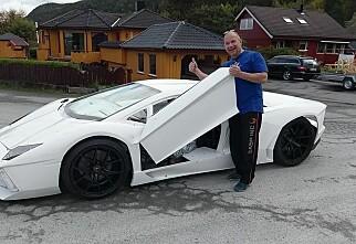 Steinar har bygd sin egen Lamborghini!
